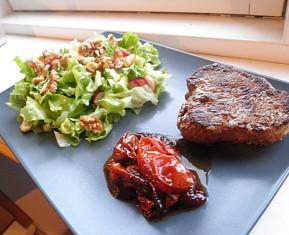 Farmer steak med salat