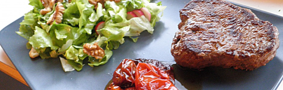 Farmer steak med salat