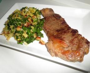 Bøf og savoykål