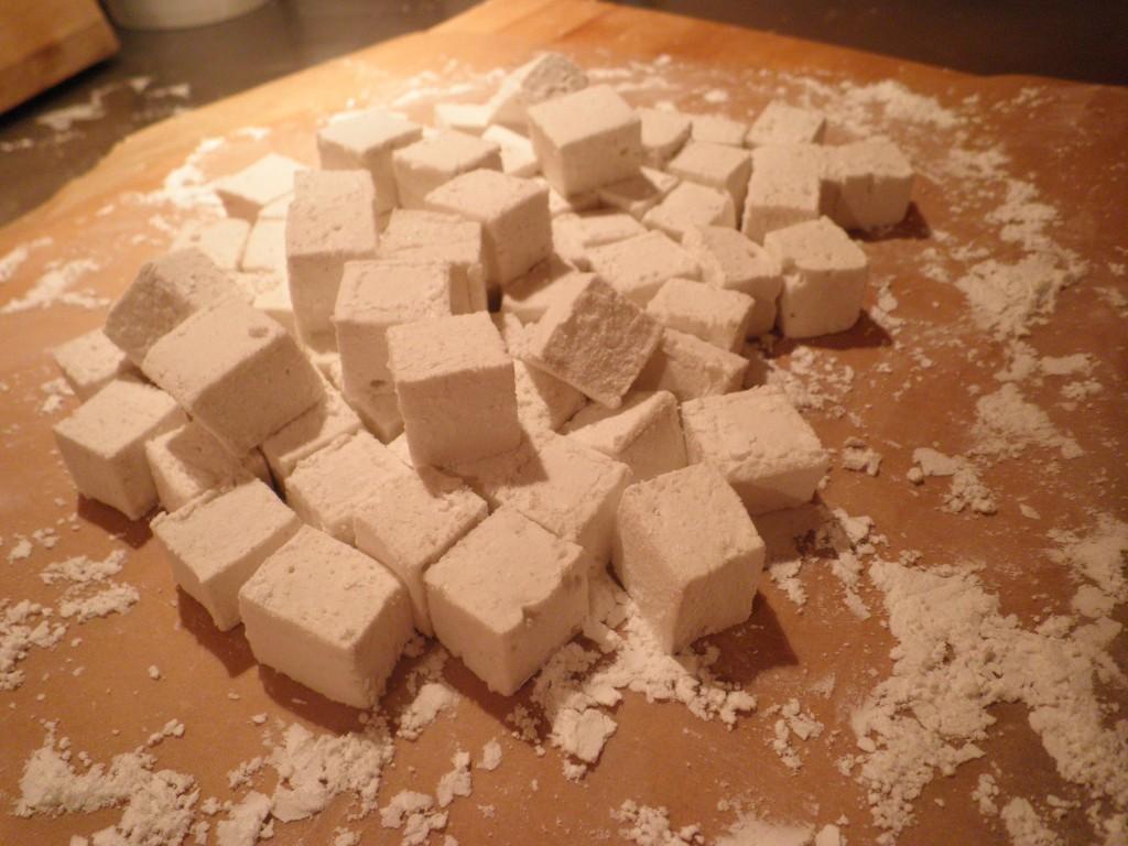 Sådan laver man selv Marshmallow / skumfiduser trin 2