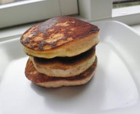 Amerikanske flapjacks - små tykke pandekager