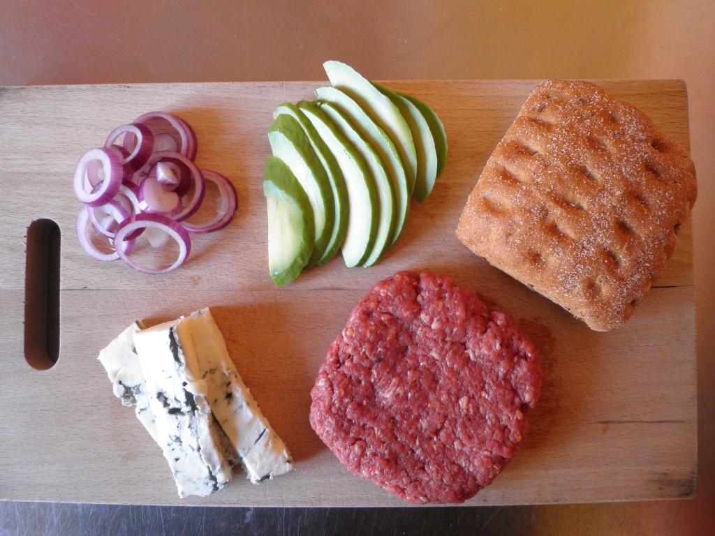 Ingredienserne til Chelsea, verdens bedste burger