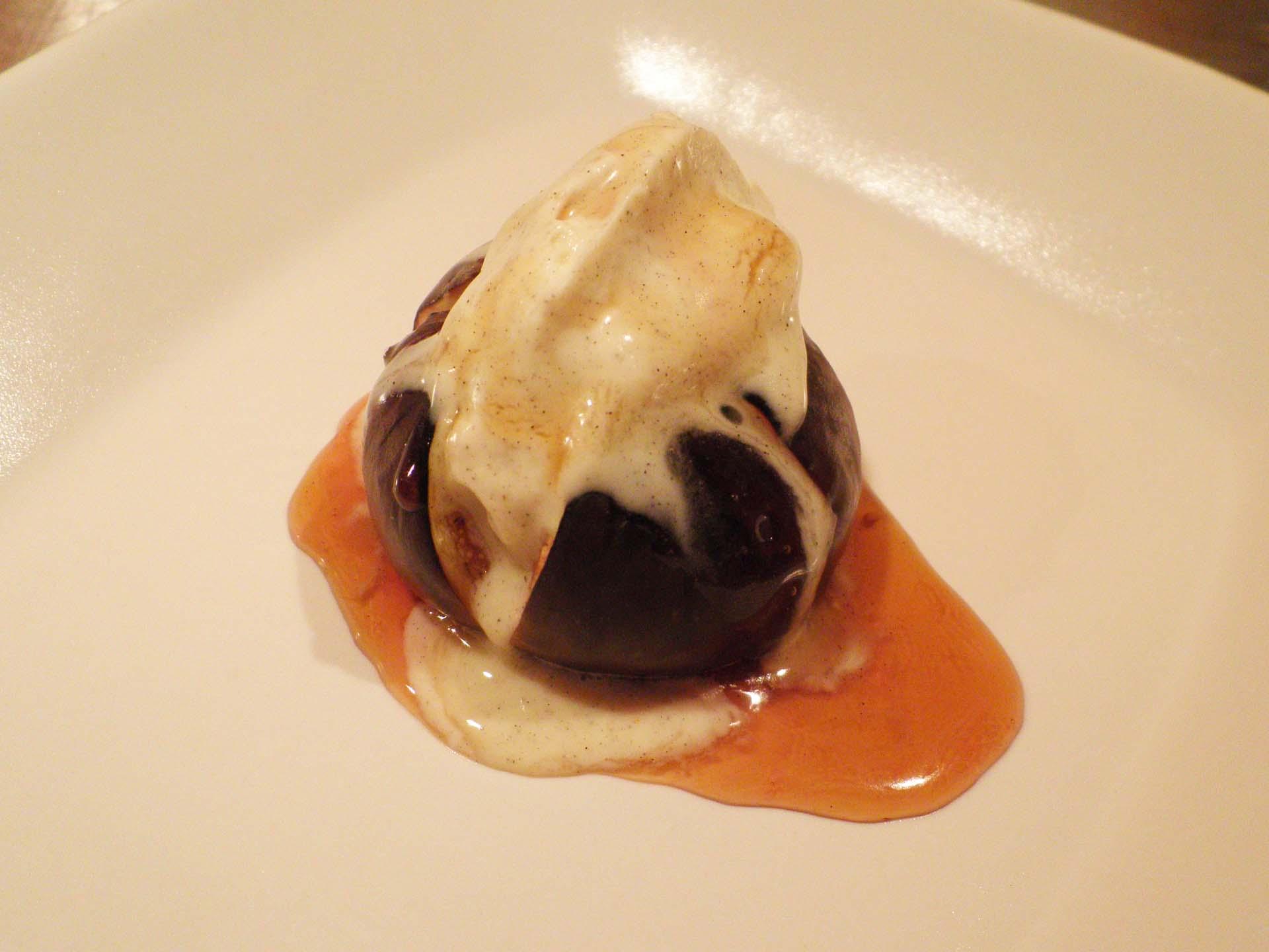Bagt Figen Med Mascarponecreme Og Romsirup Nem Dessert Love Food