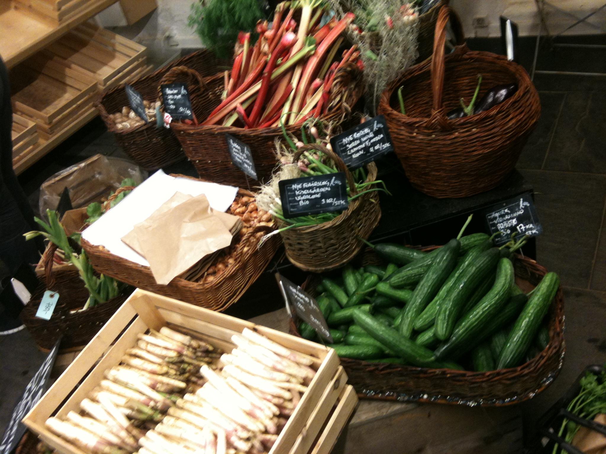 Din Baghave - grønthandler