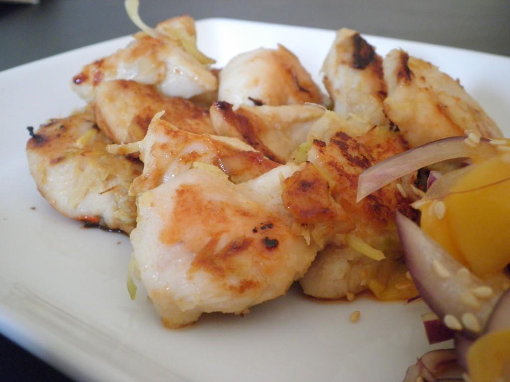 Vietnamesisk BBQ kylling (citrongræs, koriander og ingefær)