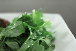 salat af ærteskud