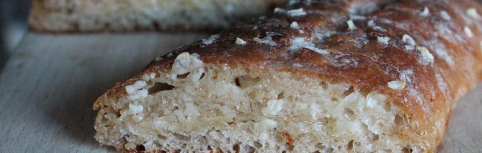 Hjemmelavet hvidløgsflutes ... så det også smager af brød