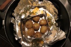 hjemmerøgede kartofler