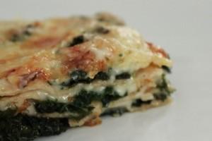 Lasagne med grønkål