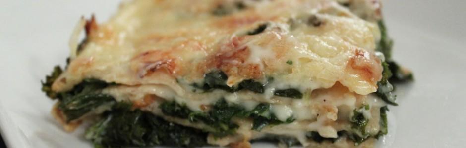 Lasagne med grønkål - Grønt er godt ... også for smagen.