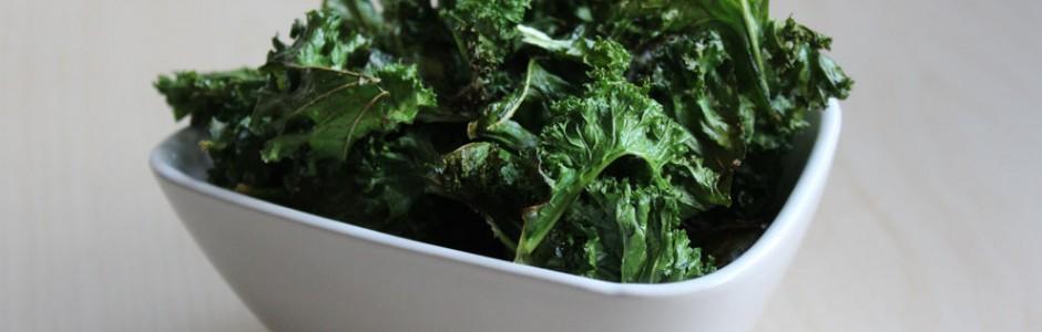 Grønkålschips - sund snack til vinteren