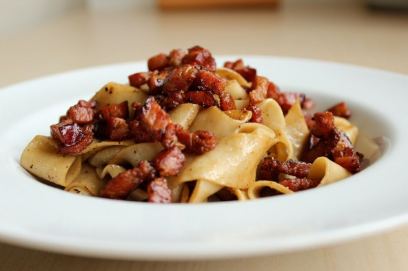 Pasta og bacon - Når det simple er perfekt
