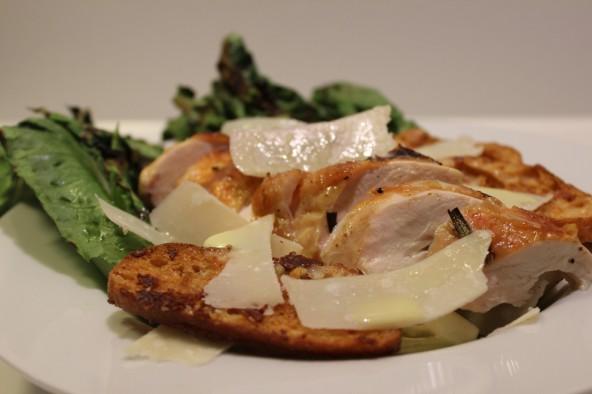 Grillet Cæsar salat - Den bedste Cæsar salat