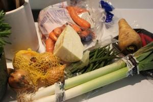 rester af grøntsager